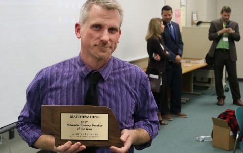 Heys Pinpointed as Top History Teacher