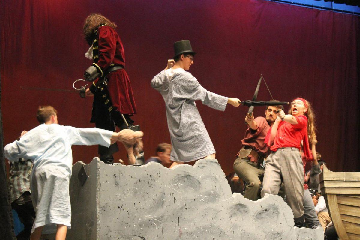 Peter Pan brings Millard West to Neverland