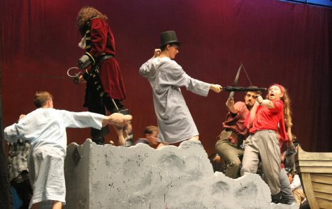 Peter Pan brings Millard West to Neverland