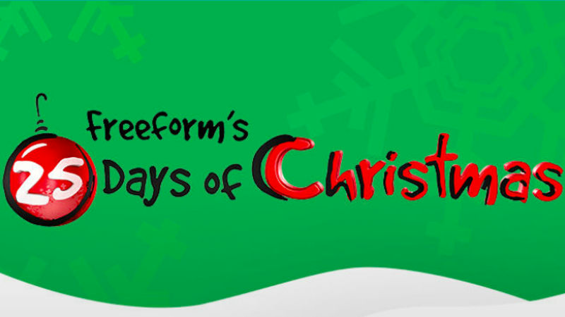 Freeform starts the holiday season off with series of different Christmas movies.
