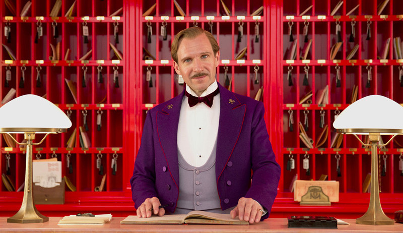 This is a snapshot from The Grand Budapest Hotel directed by Wes Anderson.