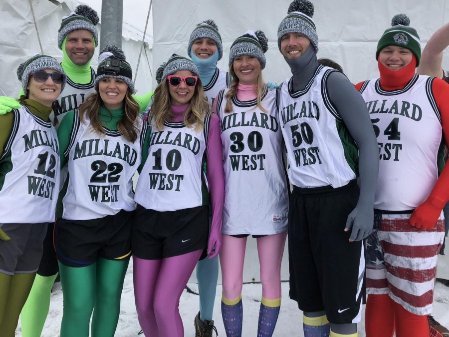 Millard+West+faculty+team+gets+ready+to+take+the+plunge+into+Lake+Cunningham