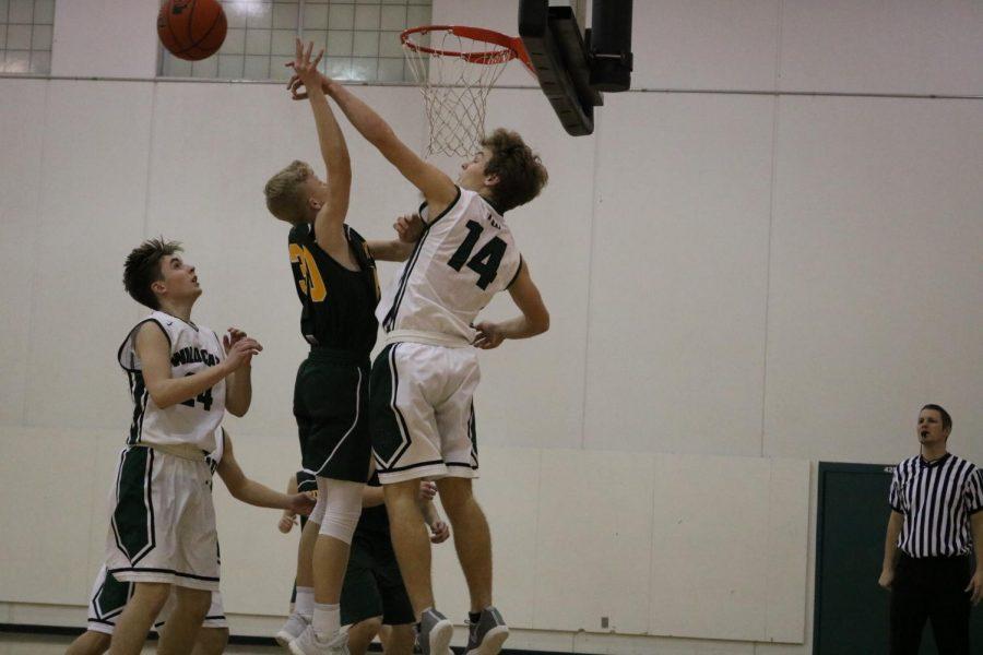 Trey+Wilbeck+blocking+the+ball