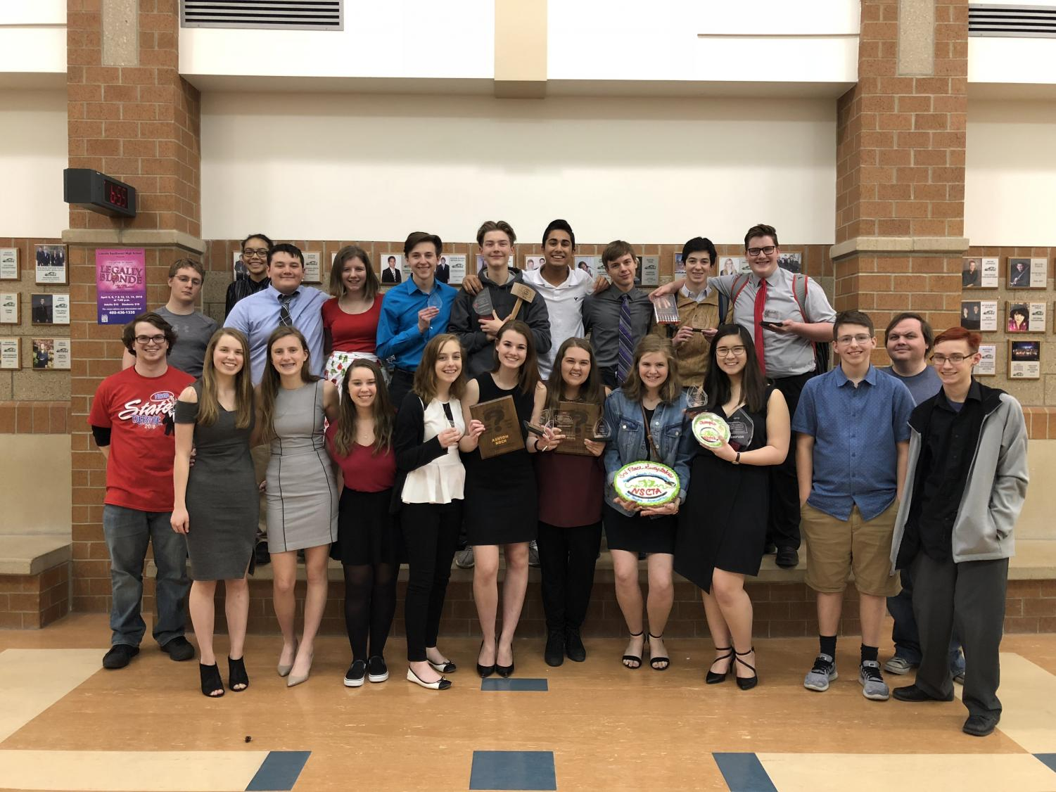 Millard West Debate team places third at the State tournament