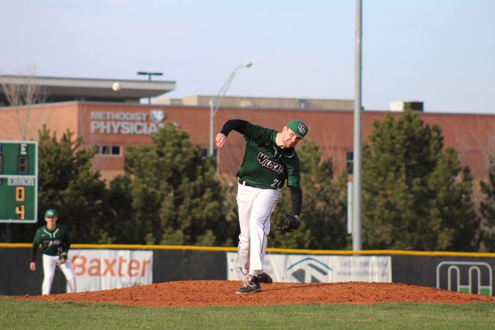 Brock Burling Pitched an impressive six inning's in the loss to Creighton Prep.