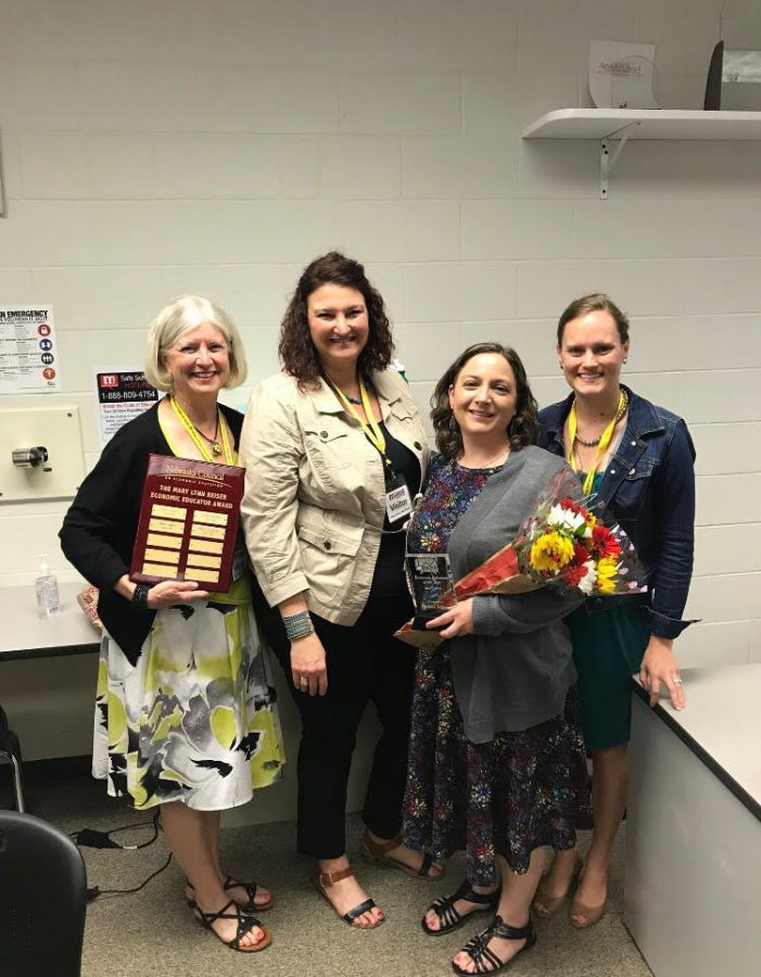 Valuing our future: Business teacher awarded Economic Educator of the Year