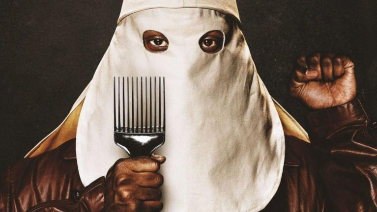 BlacKkKlansman%27s+official+poster+that+illustrates+the+movie%27s+premise+of+Ron+Stallworth+infiltrating+the+hate-filled+Ku+Klux+Klan.