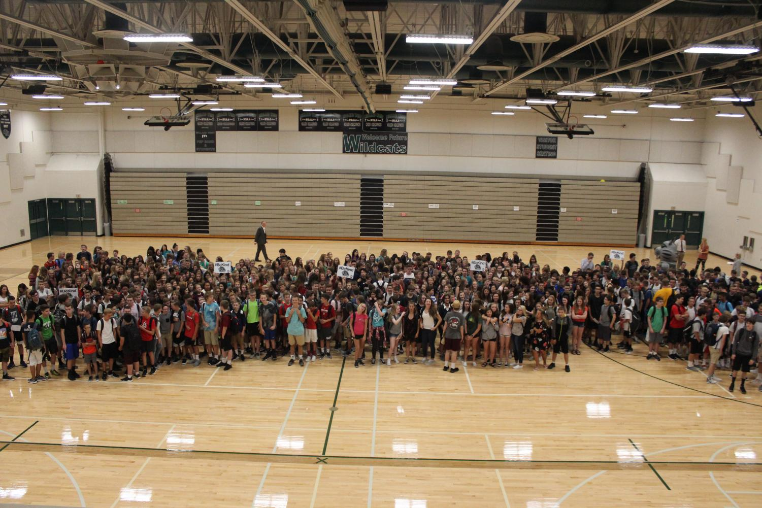 #BeKind with the class of 2022