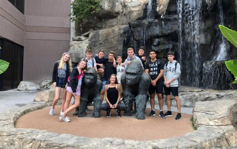 On September 13th, the German exchange students were taken to the Henry Doorly Zoo.