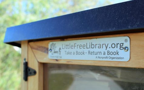 Located near Chalco Hills is a small wooden box, filled to the brim with books. This is an example of one of the Little Free Library's many