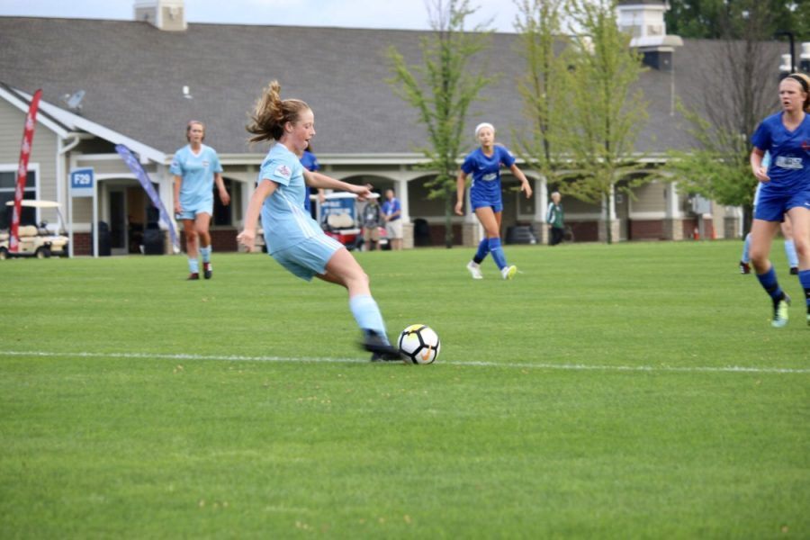 Student by Day, Soccer Player by Night