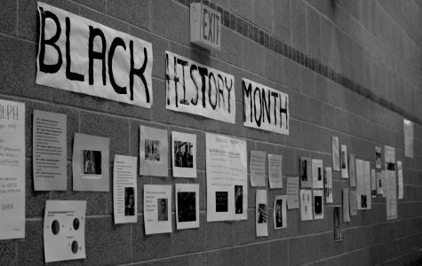 Each year the Justice and Diversity League creates a display in celebration of Black History Month.