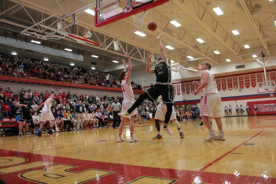 Millard West vs Millard South Boys Basketball 02.01.19