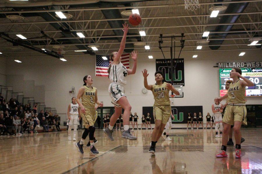 Omaha Burke vs Millard West Girls Basketball 2.21.19