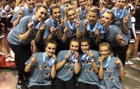 Dance Team Takes First at State Competition