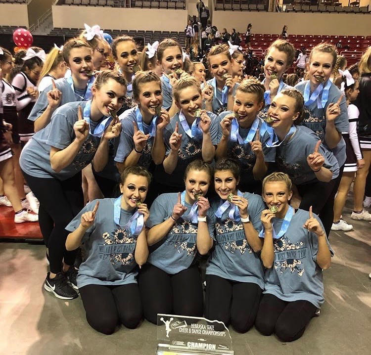 Dance+Team+Takes+First+at+State+Competition