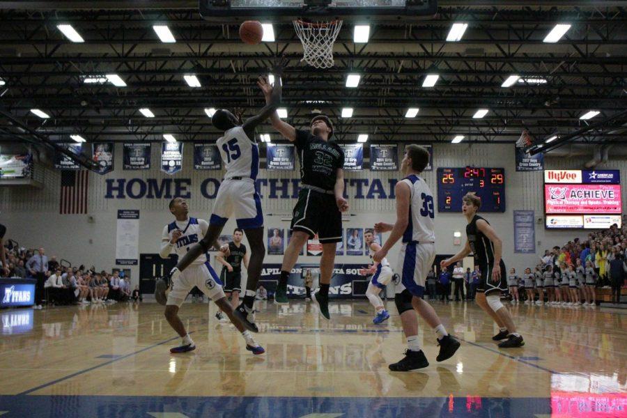 Millard West vs Papillion LaVista South Boys Basketball 2.22.19