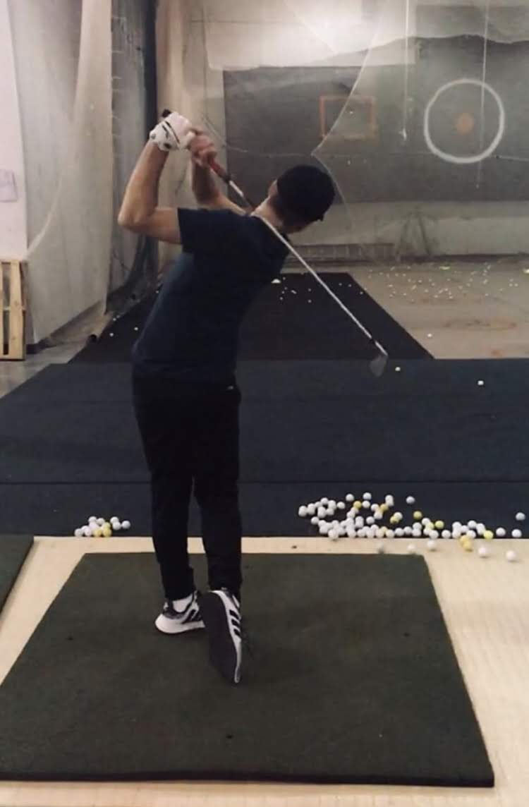 "Throughout his offseason Skoumal has been able to continue working on his skills and getting closer to his goals. During the winter months, Skoumal will try to perfect his hitting technique at indoor golf facilities. ""Blake has been"