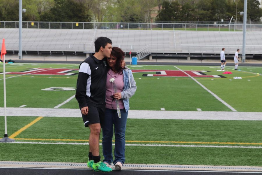 Varsity Boys Soccer Senior Night 4.26.19
