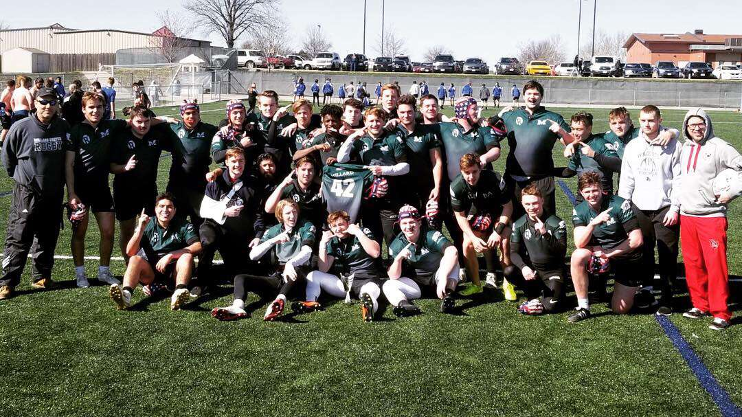 Millard United Rugby after winning the KC tournament