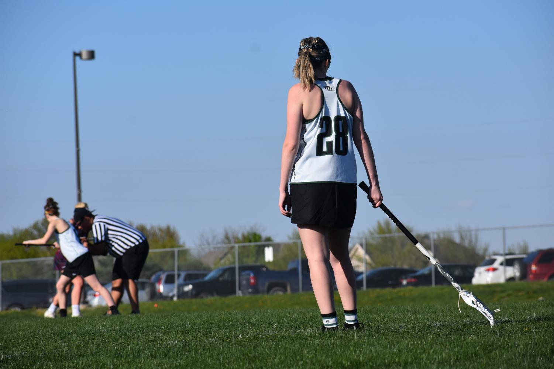 Senior+captain+Madison+Lackowski+waits+during+the+drawl.