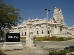 The Hindu Temple, built in 1993, displays their elegant style of worship through architecture. Photo provided by The Hindu Temple Nebraska.