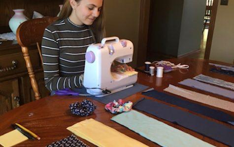 Sew those scrunchies