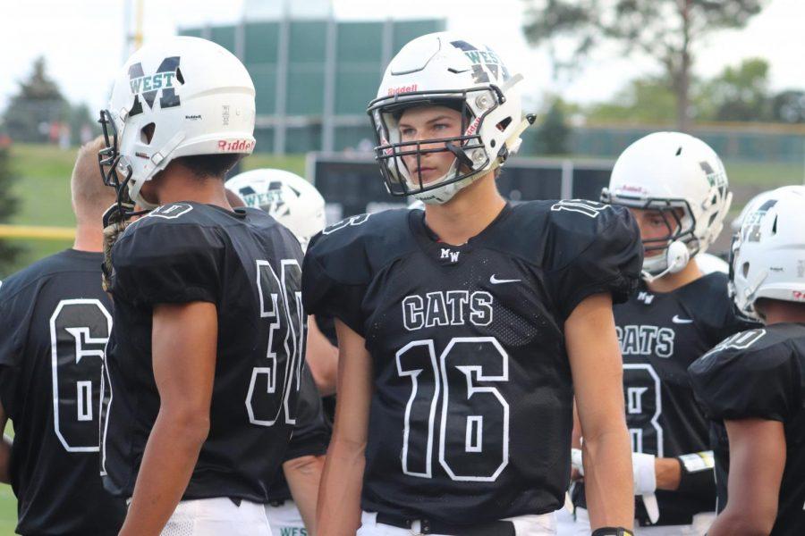Senior quarterback Tristan Gomes