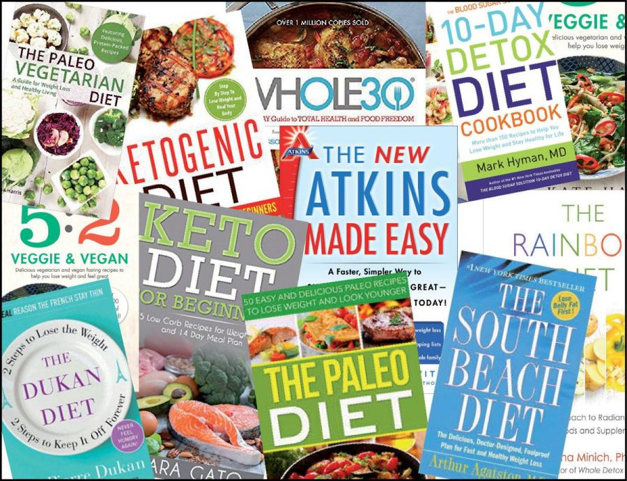 When looking at the term Fad diet there are a seemingly endless number of diets associated with it. Each diet boasts different benefits, but also a number of health problems with it. Several individuals have studied certain diets and and written books to convey their findings. There are a multitude of diets and therefore, a large number of resources at peoples disposal.