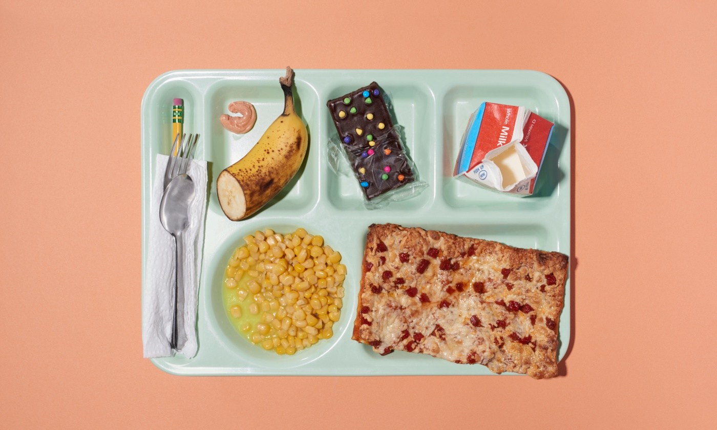 School lunches often are not appealing to students and many complain about the amount of time they have to eat.