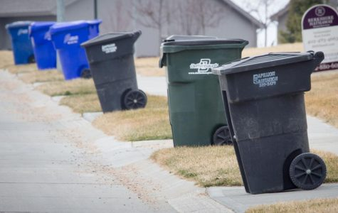 Omaha trash bins will be replaced with 96 gallon cans similar to these in the start of 2021 following the new contract for waste.