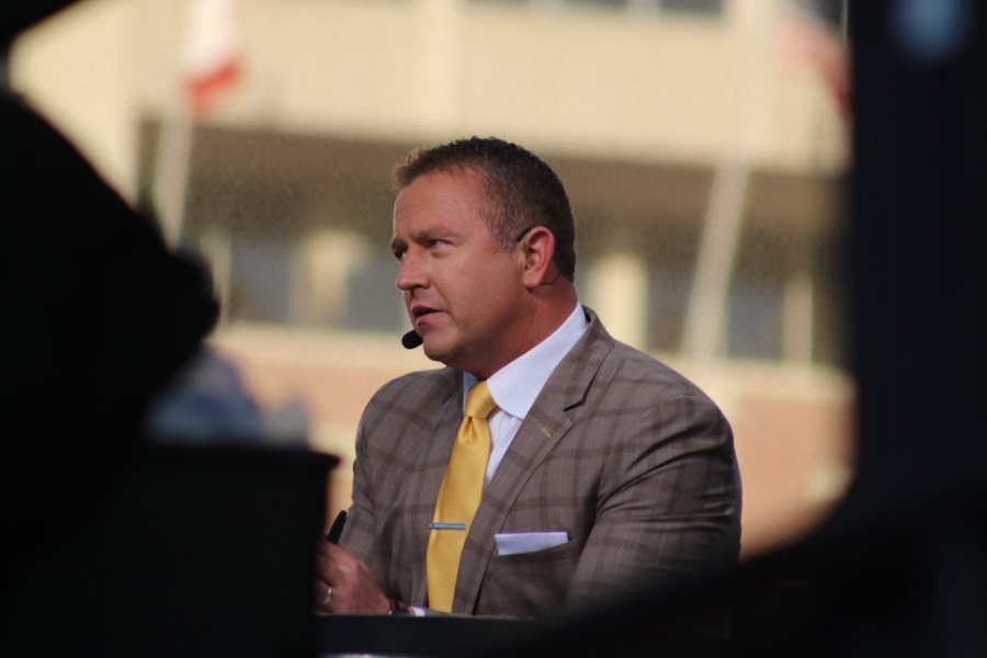 GameDay+Host++Kirk+Herbstreit+discusses+week+5+of+college+football.