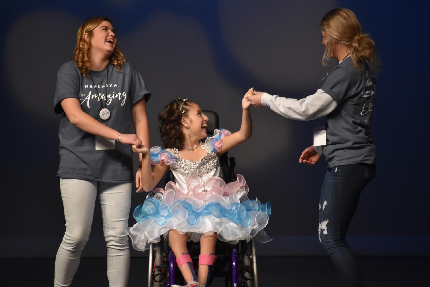 The Miss Amazing Pageant brings girls and women of all disabilities together on stage to show their uniqueness and what makes them truly special.
