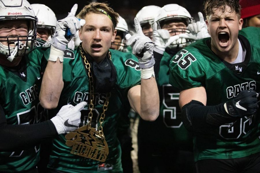 Senior+linebacker+Nathan+Pesek+rocks+the+%22turnover+chain%22+following+his+electric+interception+on+Elkhorn+South%27s+Elliot+Brown.