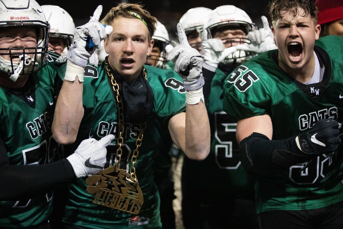 Senior linebacker Nathan Pesek rocks the