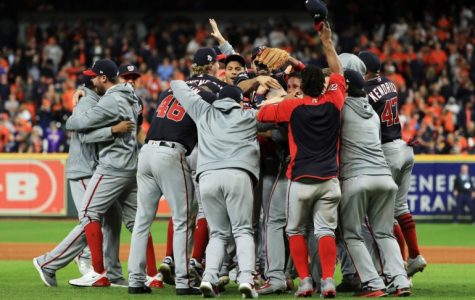 The Washington Nationals are pictured dog-pilling on the mound after winning their first World Series championship in team history. From now on, they will be called the best team of the 2019 MLB season.