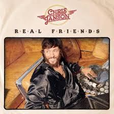Album cover for American Country music artist Chris Janson's junior album Real Friends.