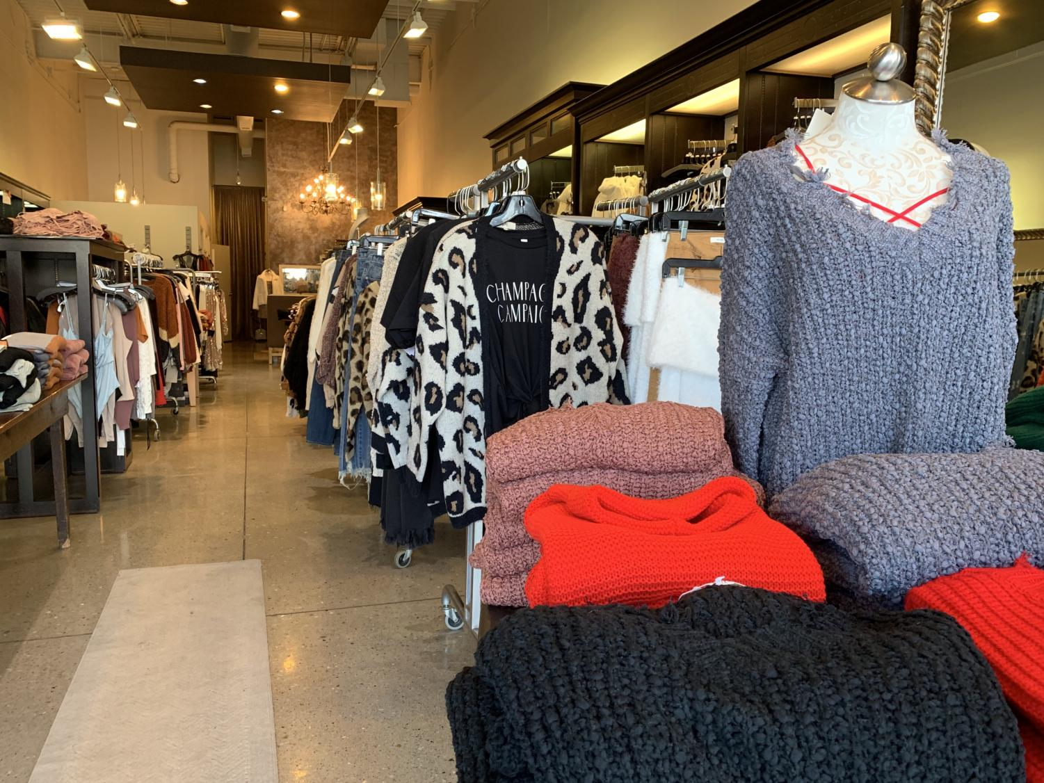 Mesh, a boutique in Shoppes of Legacy, adds to the small business community in Omaha. This fashion favorite provides affordable clothing for the perfect holiday gift while supporting the local economy.