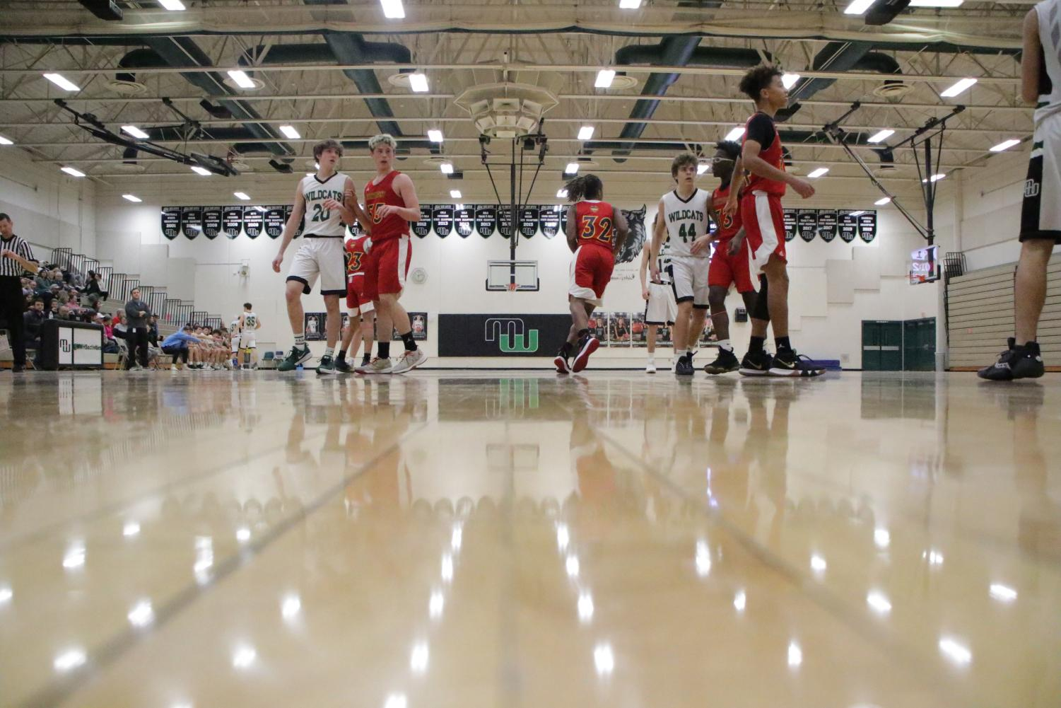 Millard West's Reserve Basketball team fell to Omaha Northwest on Monday. The final score was 55-61.