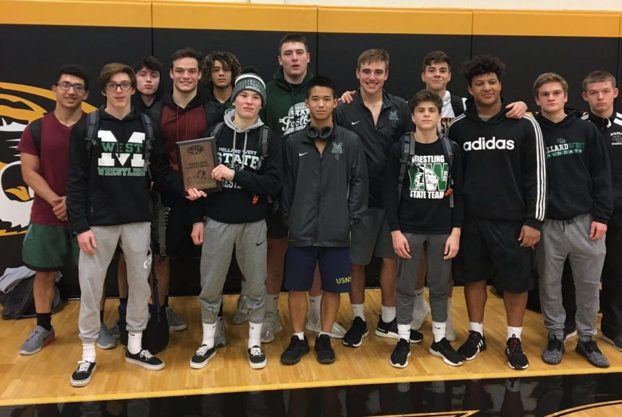 Millard+West+Wrestling+finished+as+a+runner-up+at+the+Fremont+invitational.+The+Wildcats+had+ine+medals%2C+including+4+champions.