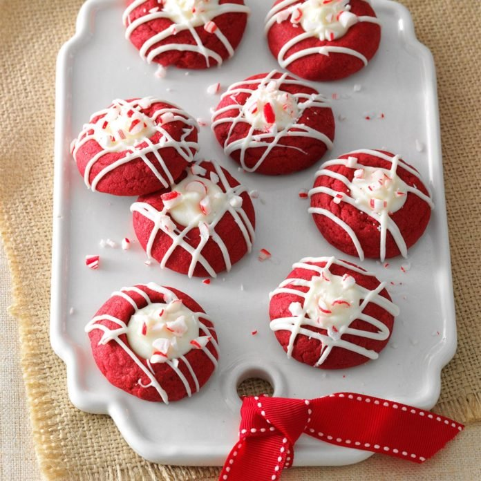 Red+Velvet+Peppermint+Thumbprint+cookies+were+the+number+one+cookie+on+the+list.