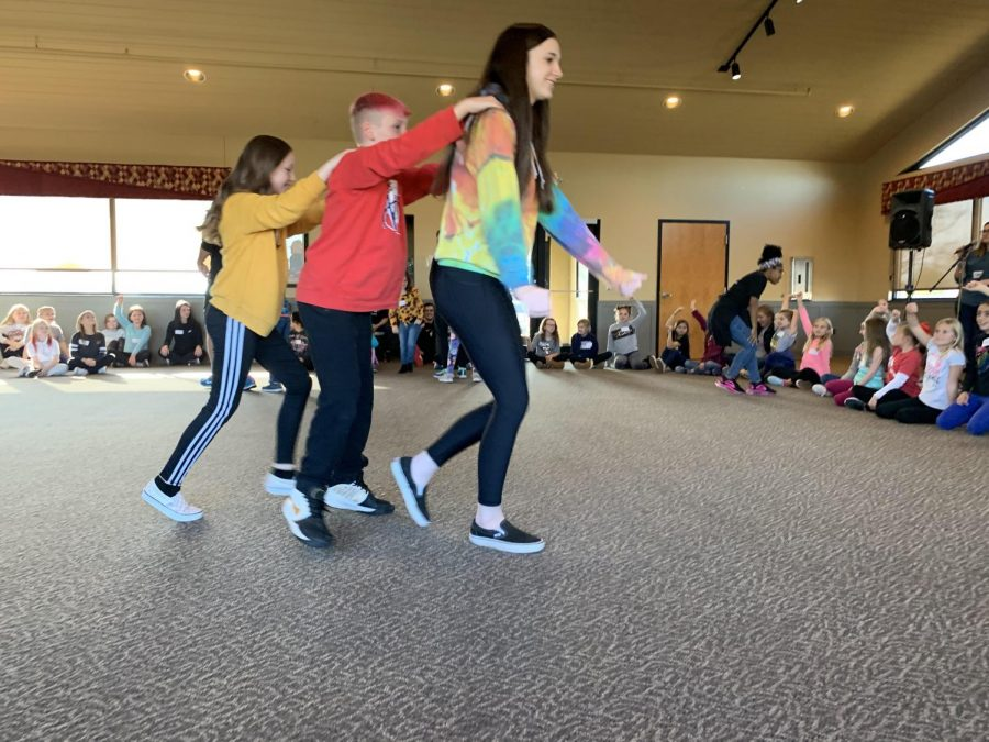 """During the Kindness Retreat, Reagan Elementary fourth graders learned about the importance of kindness through a day of singing, dancing and fun. """"The fourth graders are able to easily learn about such an important topic through activities, games, and group discussions,"""" Vontz said. At the end of the day I am positive each fourth graders left with more kindness in there heart and eager to help others."""""""