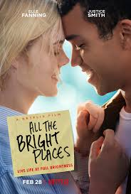 All the Bright Places stars Elle Fanning and Justice Smith and is now streaming on Netflix.