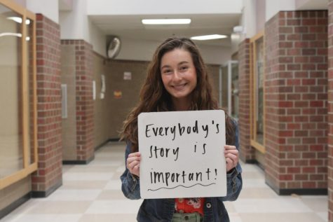 March 14th is National Write Down Your Story Day. To celebrate, we decided to go out and ask the students and teachers of Millard West what their stories are.