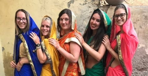 On her stop in India, Singh was able to learn about other cultures and infrastructures.