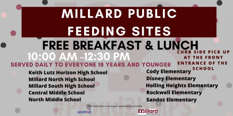 Millard+Schools+handing+out+meals+to+people+in+the+community+that+need+help+