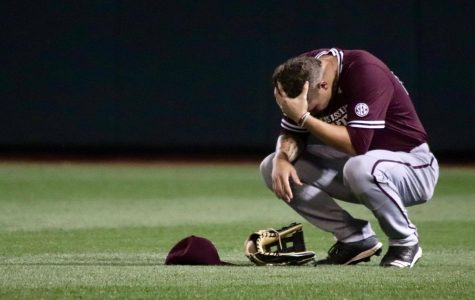 Mississippi State's Elijah MacNamee crouches on the field after a tough loss to Louisville in the 2019 College World Series.   For the first time in 70 years, Omaha won't be hosting the eight-team tradition, which is an extreme blow to the city. The city has long prided itself on hosting the tournament and in 2009 spent $100 million to build TD Ameritrade Park in exchange for an NCAA promise to keep the CWS through at least 2035. Canceling the CWS alone will cost the local economy $70 million, and is a huge loss for the businesses and vendors that surround TD Ameritrade Park.
