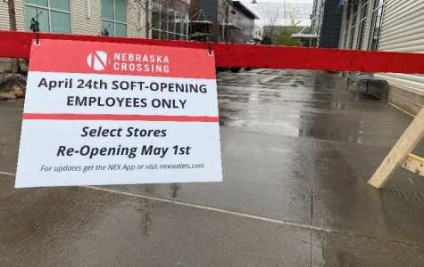 """The mall's employee's returned on the 24th only as a """"soft-opening."""" Some stores will potentially begin reopening for customers on the 1st of May."""