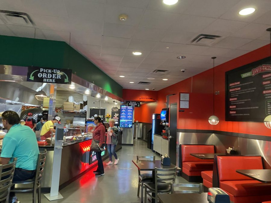 The inside of Javi's Tacos. It was a fun place to go into and I plan on coming back to try every item on the menu.