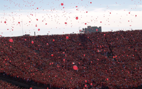 This year the Lincoln skies will not be filled with balloons after Nebraska scores its first touchdown of each home game. There will only be family members of the players allowed to attend the game but fans will still be supporting the Cornhuskers in any way they can.